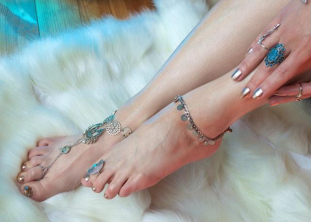 bracelet de cheville : signification